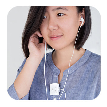 口袋型助聽器