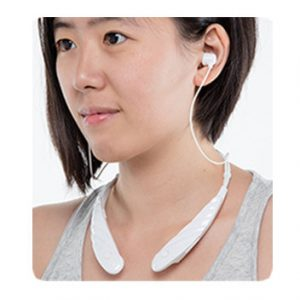 脖掛式助聽器